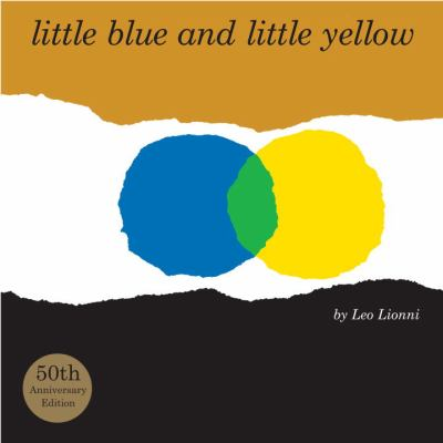 Must Read Spring Toddler Books : little blue and little yellow