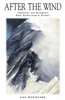 Book Title Image - After the wind : 1996 Everest tragedy : one survivor's story