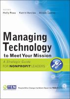 Managing Technology to Meet Your Mission catalog link