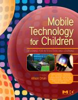 Mobile Technology for Children catalog link