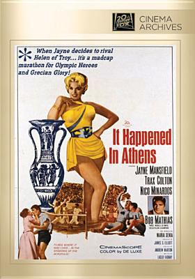 It happened in Athens dvd cover image