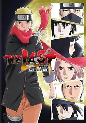 The Last: Naruto the Movie dvd cover image