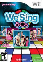 We sing 80's