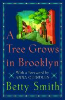 A Tree Grows in Brooklyn by Betty Smith (book cover)