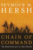Cover of the book Chain of command : the road from 9/11 to Abu Ghraib