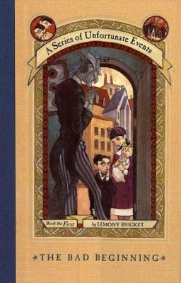 A Series of Unfortunate Events book jacket