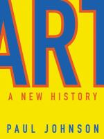 Art : a new history
