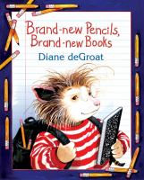 Cover Image of Brand New Pencils, Brand New Books