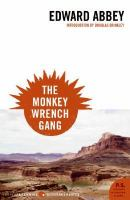 Cover of the book The monkey wrench gang