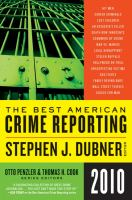 The Best American Crime Reporting, 2010