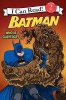 Batman : who is Clayface?