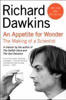 An appetite for wonder : the making of a scientist : a memoir