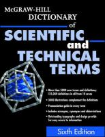 McGraw-Hill dictionary of scientific and technical terms [electronic resource].