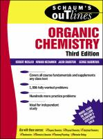 Schaum's outline of theory and problems of organic chemistry [electronic resource]