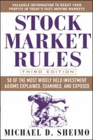 Stock Market Rules