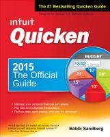 Quicken 2015 : the official guide