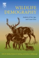 Wildlife demography [electronic resource] : analysis of sex, age, and count data