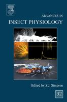 Advances in insect physiology. Volume 32 [electronic resource]