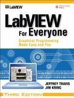 LabVIEW for everyone [electronic resource] : graphical programming made easy and fun.