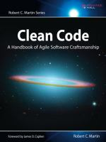 Clean code [electronic resource] : a handbook of agile software craftsmanship