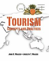 Tourism : concepts and practices