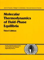 Molecular thermodynamics of fluid-phase equilibria [electronic resource].