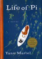 Book cover for Life of Pi by Yan Martel