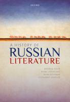 History of Russian literature /