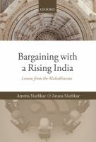 Bargaining with a rising India : lessons from the Mahabharata