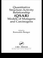 Quantitative structure-activity relationship (QSAR) models of mutagens and carcinogens [electronic resource]