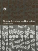 Timber, its nature and behaviour [electronic resource]
