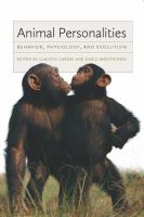 Animal personalities [electronic resource] : behavior, physiology, and evolution