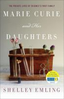 Book cover for Marie Curie and her Daughters by Shelley Emling