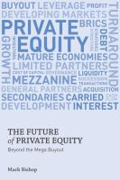 The Future of Private Equity