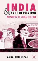 India and the IT revolution [electronic resource] : networks of global culture