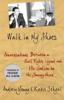 Book cover for Walk in My Shoes by Andrew Young