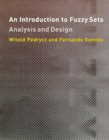 An introduction to fuzzy sets [electronic resource] : analysis and design