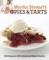 Martha Stewart's New Pies & Tarts