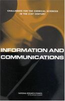 Information and communications [electronic resource] : challenges for the chemical sciences in the 21st century