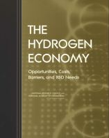 The hydrogen economy [electronic resource] : opportunities, costs, barriers, and R&D needs