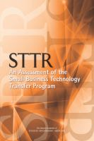 STTR : an assessment of the small business technology transfer program