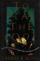 Cover of the book To play the fool