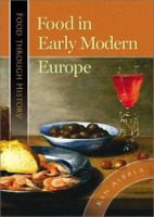 Food in early modern Europe [electronic resource]