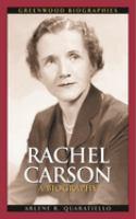 Rachel Carson [electronic resource] : a biography