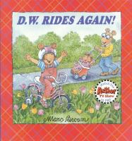 D.W. Rides Again!