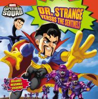 Cover Image of Dr. Strange versus the sentinels