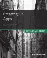 Creating iOS apps : develop and design