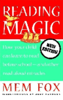 "Book Cover - Reading magic : how your child can learn to read before school-- and other read-aloud miracles "" title=""View this item in the library catalogue"