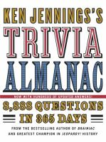 Ken Jennings's Trivia Almanac