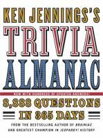 Ken Jennings's Trivia Almanac